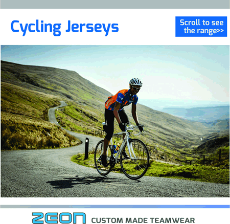 Zeon Cycling Jerseys