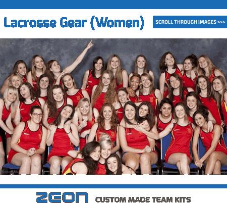 Zeon Women's Lacrosse Kit