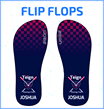 Zeon Custom Made Flip Flops